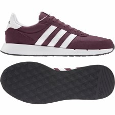 Adidas Run 60s 2.0 (Maroon White) 8