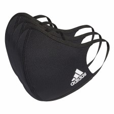 Adidas Face Coverings Black) Medium/Large 3 Pack