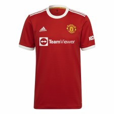 Adidas MUFC Home Jersey 21/22 (Red/White) XS