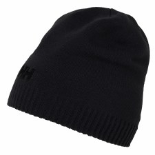 Helly Hansen Brand Logo Beanie Adults OSFA (Black)