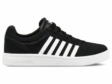 K Swiss Court Cheswick Suede Womens (Black White) 4.5
