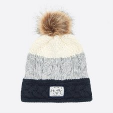 Animal Celise Knitted Beanie (Sea Captain Blue)