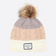 Animal Celise Knitted Beanie (Rose Dust Pink)