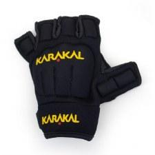 Karakal Pro Hurling Glove Left Hand (Black Amber) Boys