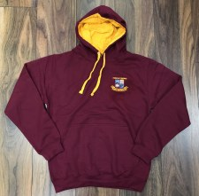 AWD Miltown Hoody Adults (Maroon Amber) XS
