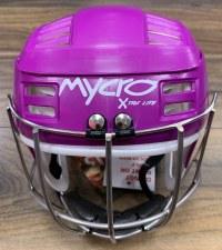 Mycro Hurling Helmet (Purple) Extra Small