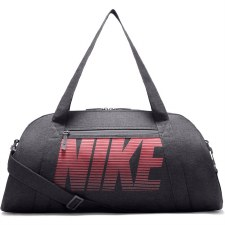 Nike Womens Gym Club Training Duffel Bag (Grey/Pink)