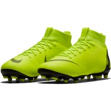 Nike Junior Superfly 6 Academy GS FG (Volt/Black) 5.5