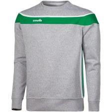 O'Neills Auckland Crew Neck (Grey Green White) 10-11