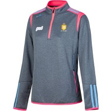 O'Neills Clare Ladies Solar HZ Squad Top (Marl Marine Pink Blue) Age 9-10