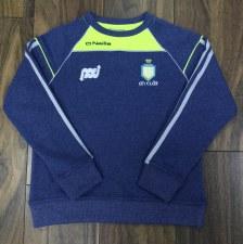 O'Neills Clare Aston Roundneck Sweat (Melange Navy Flo Yellow) 9-10