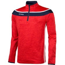 O'Neills Slaney 3 Stripe Half Zip (Melange Red Navy White) 5-6