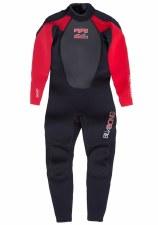 Billabong Intruder Infants 3/2 Full Wetsuit (Black Red) Age 1-2