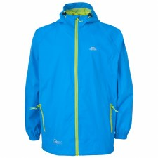 Trespass Qikpac Packaway Waterproof Breathable Jacket (Blue) 7-8Y