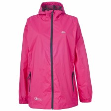Trespass Qikpac Packaway Waterproof Breathable Jacket (Pink) 9-10Y