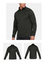 Under Armour Mens Armour Fleece (Dark Green) Large