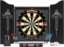 Winmau Professional Darts Centre (Black)