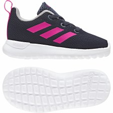 Adidas Lite Racer CLN Infants (Navy Pink) 6