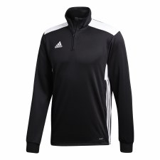 Adidas Regista 18 1/2 Zip Training Top (Black White) Medium