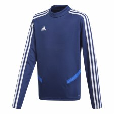 Adidas TIRO19 Training Sweatshirt (Navy Blue White) Age 7-8