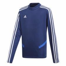 Adidas TIRO19 Training Sweatshirt (Navy Blue White) Age 5-6