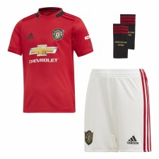 Adidas MUFC Home Mini Kit 2019/2020 (Red White) Age 4-5