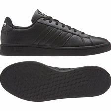 Adidas Grand Court (Black Black) 5