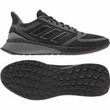 Adidas Nova FV SE Running Shoes  (Black Grey) 9