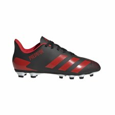 Adidas Predator 20.4 Firm Ground Junior (Black Red) 13