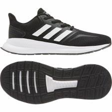 Adidas Run Falcon Kids (Black White) 2