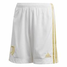 Adidas Juventus Home Shorts Junior 2020/21 (White Black Gold) 13-14