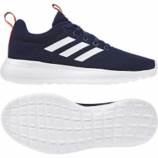 Adidas Lite Racer CLN (Navy White Orange) 2