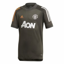 Adidas Manchester Utd Training Jersey 2020/21 (Carbon Orange) M