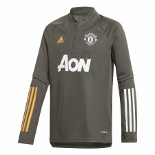 Adidas Manchester Utd Training Top 2020/21 (Carbon Orange) M