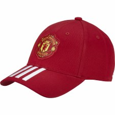 Adidas Man Utd Baseball Cap (Red) Mens 2020/21