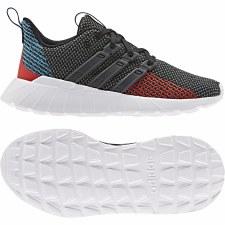 Adidas Questar Flow Kids (Grey Red Blue) 2