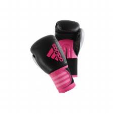 Adidas Hybrid Boxing Glove (Black Pink) 6oz