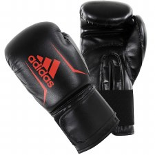 Adidas Speed 50 Boxing Glove (Black Red) 10oz