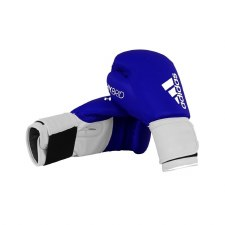 Adidas Hybrid Boxing Gloves (Blue White) 8oz
