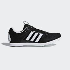Adidas Allroundstar Jnr Track & Field Spike Black White 1