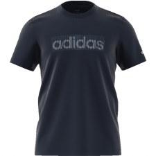 Adidas Premier Printed Tee Mens (Navy) Large