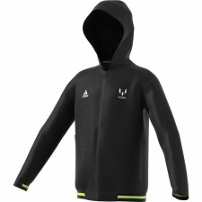 Adidas JB Messi Full Zip Hoodie 2019-2020 (Black Lime) 5-6