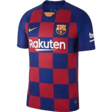 Nike Barcelona Home Jersey 2019-2020 (Blue Claret) Small