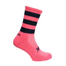 Atak Shox Mid Lenght Socks (Pink Navy) 10-2 Uk