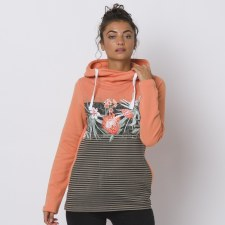 Animal Mamara Hoodie Ladies (Burnt Orange Floral) 8