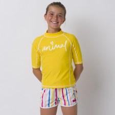 Animal Cali Dreamer Short Girls (White Multi) XS Girls