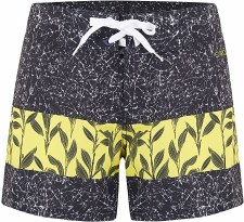 Animal Faren Boardshorts Fixed Waist (Black Yellow) 6