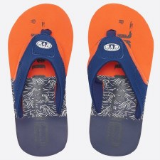 Animal Jekyl Logo Boys SS19 Navy Orange) 12