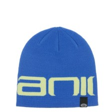 Animal Knitted Beanie Junior (Blue/Yellow) Childrens