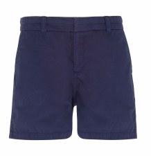 Asquith & Fox Womens Chino Shorts (Navy) 12